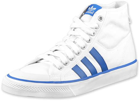 adidas nizza hi shoes wht blubir w