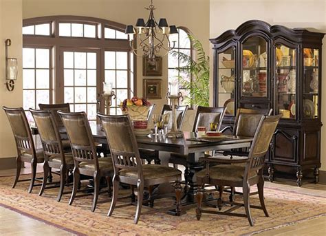 rustic cherry rectangular table formal dining room set rustic formal dining table archer rustic formal dining