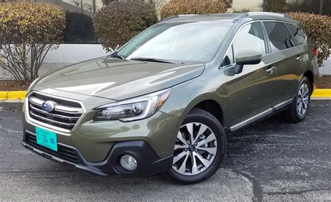green subaru outback 2018 test drive 2018 subaru outback 2 5i touring the daily