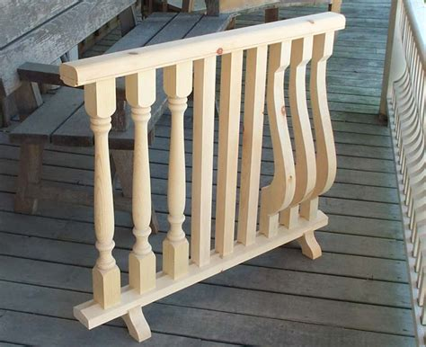 Porch Railing Spindles Porch Wood Post Turning And Railing Products
