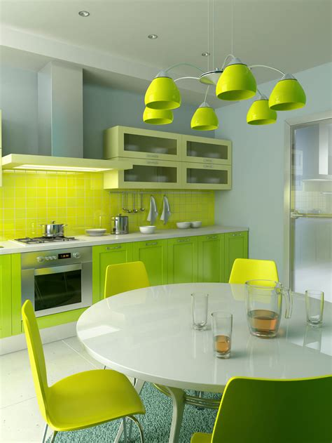 green kitchen decor lime green kitchen decorating ideas decosee com