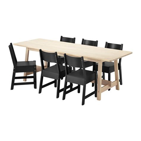 Ikea Dining Table And 6 Chairs Norr 197 Ker Norr 197 Ker Table And 6 Chairs Ikea