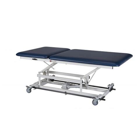 tilt table for back tilt back power lift table 2 section power lift tables