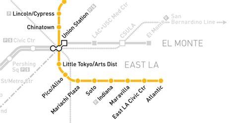 metro gold line map metro gold line map