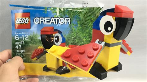 Dijamin Lego 30472 Polybag Parrot lego creator 30472 baby macaw parrot promo set new in