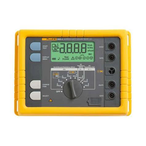 Jual Earth Ground Tester Fluke 1623 2 Kit fluke cable reel 25m gr ground earth cable reel 25 m 81