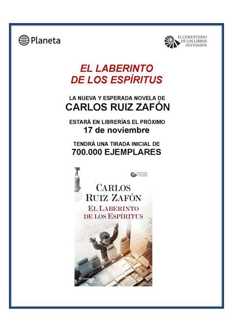 el laberinto de los el laberinto de los esp 205 ritus carlos ruiz zaf 243 n revista digital gratuita de cruceros cine y viajes