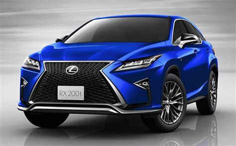 lexus rx 200t f sport ect 2 0 2016 japanese vehicle