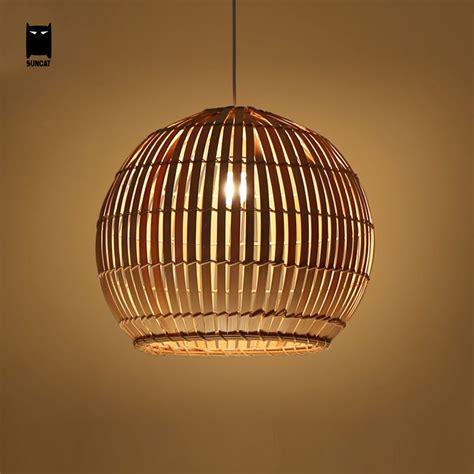 Wicker Pendant Lighting Bamboo Wicker Rattan Basket Shade Pendant Light Rustic Ceiling L Fixture Pendant Lighting