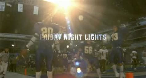 Friday Lights Wiki by Friday Lights Serie Televisiva