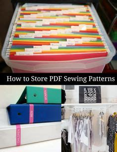 sewing pattern organizer app sewing pattern organization using comic book boxes sleeves