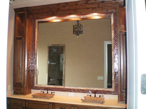 mirror borders bathroom borders for bathroom mirrors decor frameless etch border