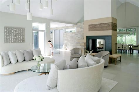 White Modern Living Room by Most Popular Living Room Designs For 2014 Qnud