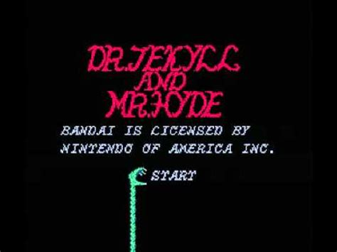 jekyll and hyde theme tune dr jekyll and mr hyde nes music transformation theme