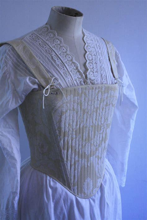 Tudor Corset @ Janet Comber ? Time Tailor