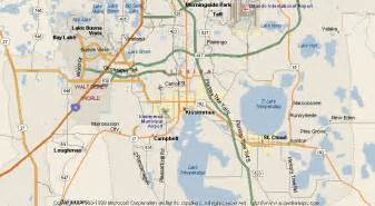 map of poinciana