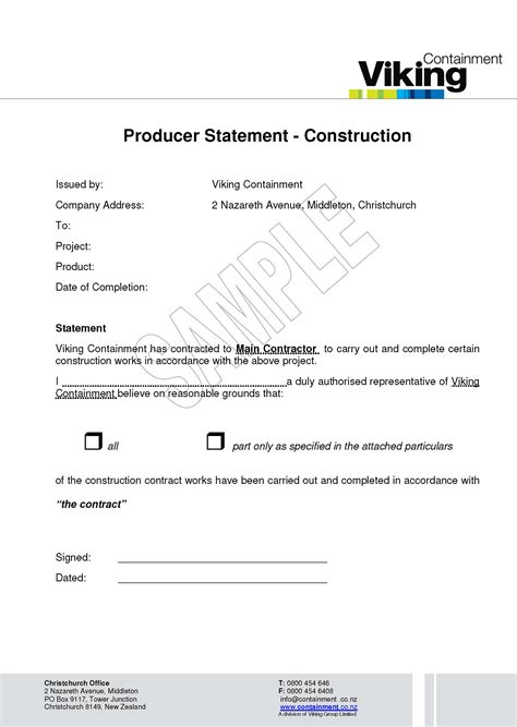 Warranty Statement Template 28 Images Brotherusa Your Source For Home And Office Product Warranty Statement Template