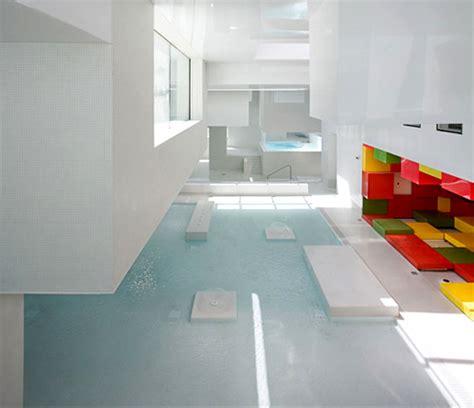 Kitchen Design Centers modern swimming complex les bains des docks the style files
