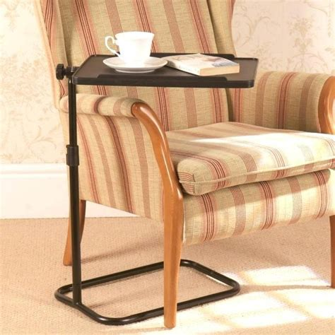 armchair trays armchair trays adjustable swivel table sofa arm trays in