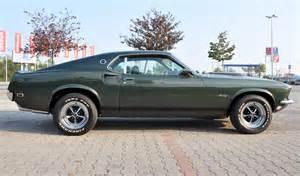 1969 Black Ford Mustang Black Jade Green 1969 Ford Mustang Fastback