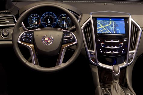 cadillac ats cue cadillac cue dual touchscreens and more functions for