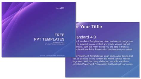 Purple Line Abstract Ppt Templates Purple Line Abstract Ppt Templates