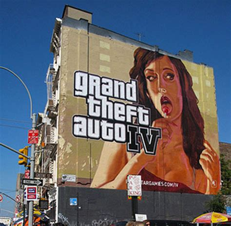 18 creative controversial video game billboards signs