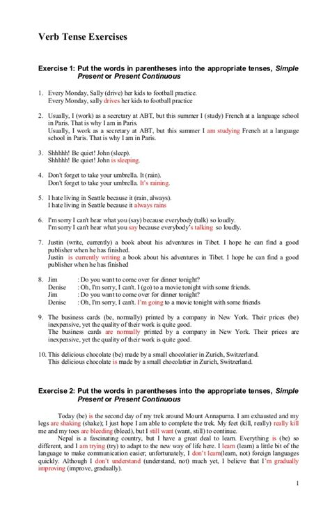 english exercises mixed past tense exercises mixed verb tenses exercises intermediate verb tenses student centered resources and worksheets