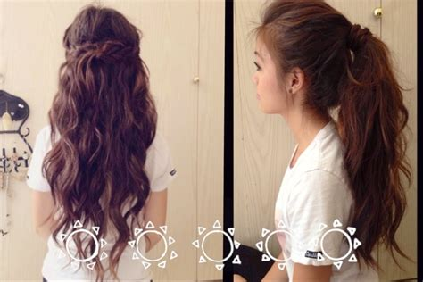 easy hairstyles for school and work back to school fast and easy hairstyles