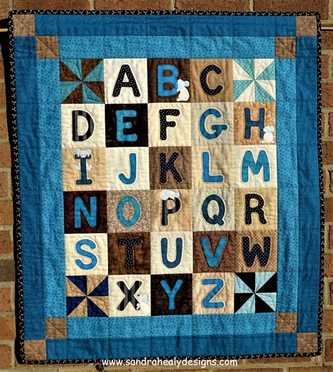 Letter Quilt Pattern Alphabet Quilt Pattern Wall Hanging Healy Designs