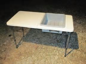 Kitchen Table Wisdom Camping Table With Sink