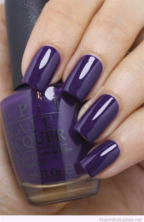top  mysterious dark purple nails  fashions eve