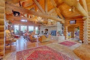 Pictures Of Log Home Interiors log home interior living picture of the interior of log homes jpg