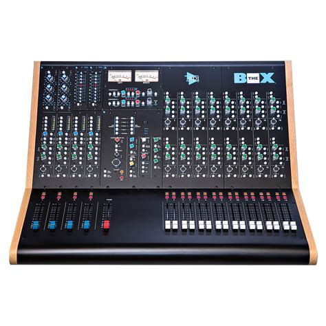 apis console api audio the box compact recording and mixing console