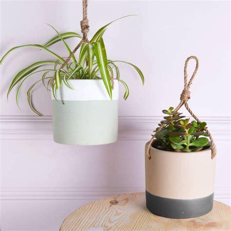 ceramic hanging planter hanging ceramic planters by miafleur notonthehighstreet