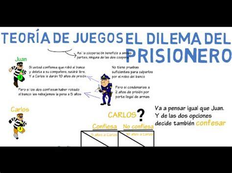 el dilema del omnivoro 8499927033 teor 237 a de juegos el dilema del prisionero cap 23 microeconom 237 a youtube