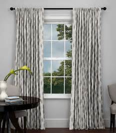 Contemporary Curtains Modern Patterned Rod Pocket Drapery Ideas