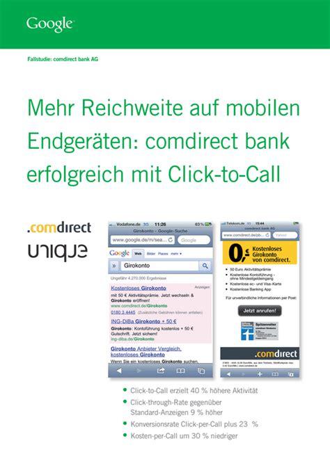 comdirect bank kontakt durch mobile anzeigen mehr kunden erreichen