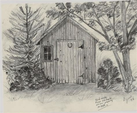 Shed Drawing by 18 Best Pencil Drawings I Ve Done Images On Pencil Drawings Graphite And Buildings