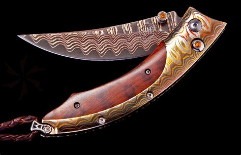 william henry kitchen knives william henry persian copper river compact folder 2 5