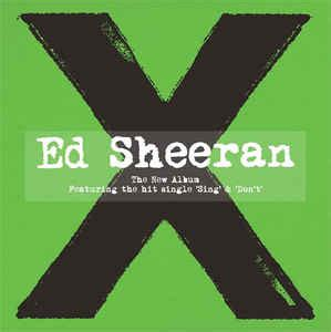 ed sheeran full album download ed sheeran x cd album at discogs