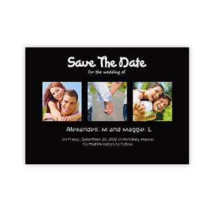 make my own save the date cards create your own save the date cards puppy black
