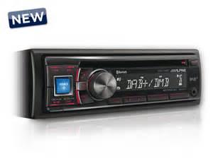 alpine cde 136bt in dash dab car radio with iphone ipod