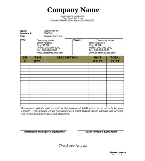 Business Name Template 28 blank invoice templates free premium templates