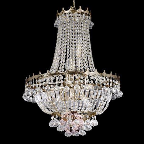 lustre en cristal lustre cristal impressionnant versailles luminaire fr