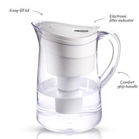 Amazon.com: Brita Vintage Water Filter Pitcher, White, 10