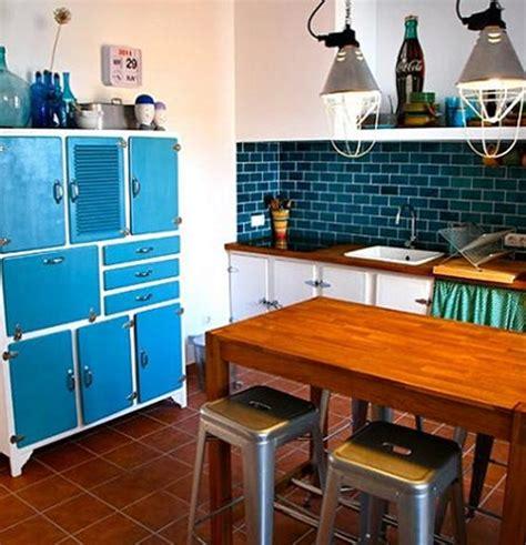 imagenes retro cocina cocinas vintage interiores