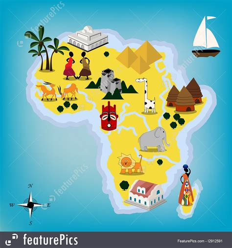 w x maps africa africa africa map stock illustration i2912591 at