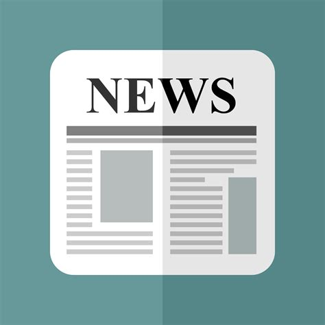 news in vector for free use news icon
