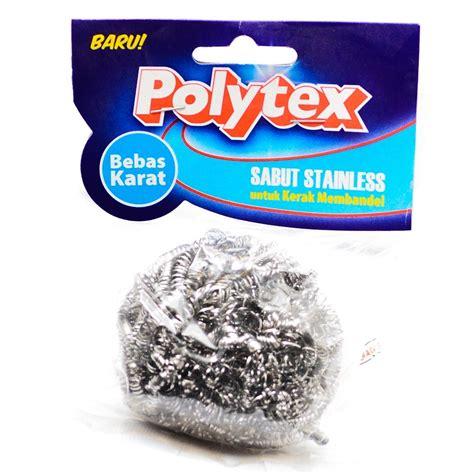 Sabut Stainless Polytex by Jual Polytex Sabut Stainless Steel 12 5g 1pc Berkualitas